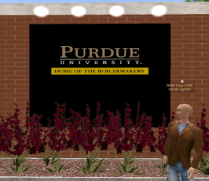 Purdue in Second Life