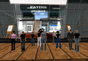 PATINS-Project Staff in Second Life Image
