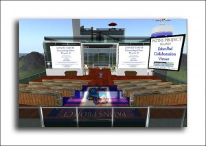 PATINS Main Auditorium Second Life image