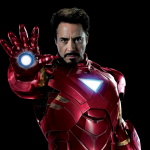 Picture of Robert Downey Jr. as Ironman