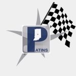 PATINS Project GEAR Up Logo. PATINS P over a starfish with a checkered racing flag.